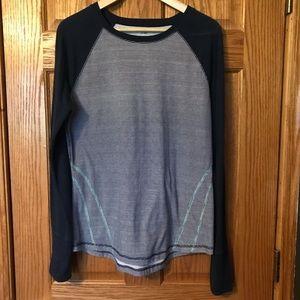 Women's TekGear DryTek Long Sleeve Stripe T-shirt